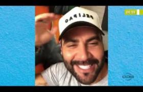 BOM DIA NEWS  27 03 20  Cantor Felipão manda mensagem de otimismo
