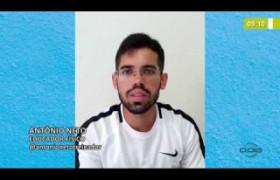 BOM DIA NEWS  27 03 20  Educador físico dá dicas de treinos para fazer em casa