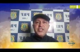 BOM DIA NEWS  27 03 20  PRF dá apoio aos caminhoneiros nas principais rodovias do Piauí