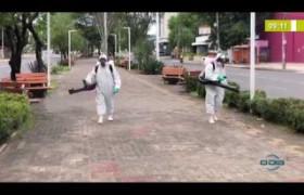 BOM DIA NEWS 30 03 20 Espaços públicos de Teresina passam por sanitização por combate a Covi