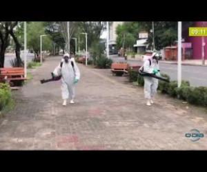 TV O Dia - BOM DIA NEWS 30 03 20 Espaços públicos de Teresina passam por sanitização por combate a Covi