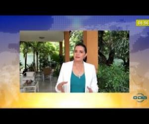 TV O Dia - BOM DIA NEWS 31 03 20  Deputada Teresa Britto é contra audiência pública virtual