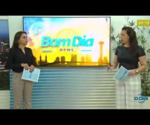 TV O Dia - BOM DIA NEWS  31 03 20  HGV se prepara para atender pacientes com Covid-19