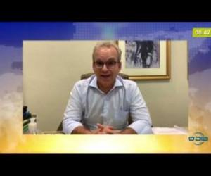 TV O Dia - BOM DIA NEWS  31 03 20  Prefeito Firmino Filho prorroga decreto de isolamento social em Teresina
