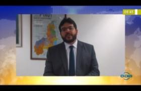 BOM DIA NEWS 31 03 20  Rafael Fonteles (Sec. Est. Fazenda) - Aumento no pacote econômico