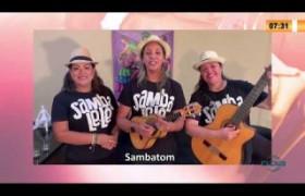 LINHA DE FOGO 06 03 20  Sambatom homenageia as mulheres