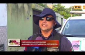 LINHA DE FOGO 13 03 2020 POLÍCIA PRENDE UM DOS MAIORES ARROMBADORES DE COMÉRCIO EM JOSÉ DE FREITA