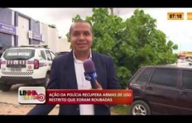 LINHA DE FOGO 17 03 2020 AÇÃO DA POLÍCIA RECUPERA ARMAS DE USO RESTRITO QUE FORAM ROUBADAS