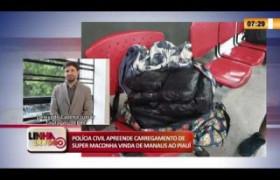 LINHA DE FOGO 19 03 2020 APREENSÃO DE CARREGAMENTO DE SUPER MACONHA VINDA DE MANAUS AO PIAUÍ