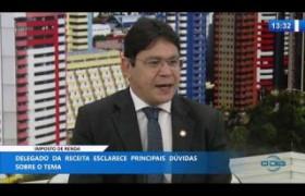 O DIA NEWS  03 03 20  Eudimar Brito (Delegado Receita Federal) - Imposto de renda