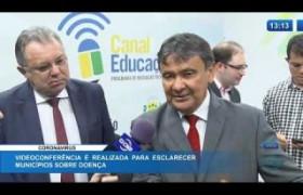 O DIA NEWS  03 03 20  Videoconferência é realizada para esclarecer municípios sobre o Coronavi
