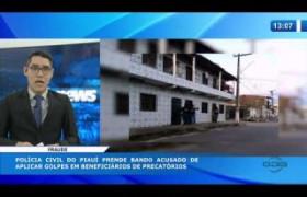 O DIA NEWS  04 03 20  Preso bando acusado de aplicar golpes em beneficiários de precatórios