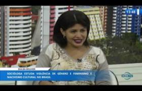 O DIA NEWS 06 03 20  Marcela Castro (Socióloga) - Dia da Mulher