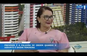 O DIA NEWS 06 03 20  Tânia Cardoso (coord. Projeto Alertar da RFCC PI) - Dia da Mulher