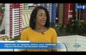 O DIA NEWS 09 03 20  Monique Menezes (Sec. Mun. Concessões e Parcerias) - PPPs