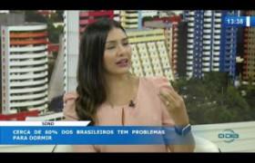 O Dia News 12 03 20  Fernanda Castro (Neurologista médica do sono) - 60% tem problema para dormir