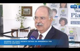 O DIA NEWS 16 03 20  Governo do Piauí decreta estado de emergência por risco de contágio