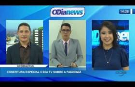 O DIA NEWS  24 03 20  Cobertura especial O Dia TV sobre a pandemia PARTE 04