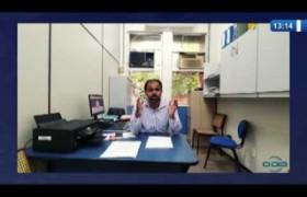 O DIA NEWS  24 03 20  Idosos são vacinados contra a gripe em sistema de 'drive thru' em Teresi