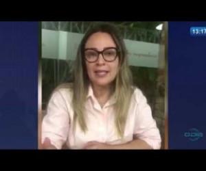 TV O Dia - O DIA NEWS 27 03 20 Rejane Dias(Dep. Fed. PT-PI)-Auxílio emergencial para trabalhadores autônomo