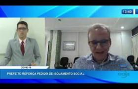 O DIA NEWS 31 03 20  Prefeito de Teresina reforça pedido de isolamento social