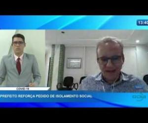TV O Dia - O DIA NEWS 31 03 20 Prefeito de Teresina reforça pedido de isolamento social