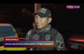 ROTA DO DIA 09 03 20  Polícia Militar recupera moto e vítima desabafa