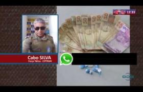 ROTA DO DIA 10 03 20  Apreensão de drogas no bairro Monte Castelo