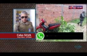 ROTA DO DIA 10 03 20  Jovem tem sua moto levada por criminosos armados