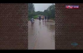 ROTA DO DIA 16 03 20  Força das águas rompeu a rodovia que liga Teresina ao município de Naza�