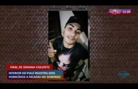 ROTA DO DIA 16 03 20  Interior do Piauí registra dois homicídios a facadas no domingo