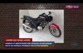 ROTA DO DIA 18 03 20  Homem é identificado por câmeras ao recuperar moto do matagal