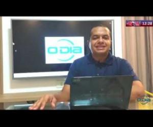 TV O Dia - ROTA DO DIA 30 03 20 Delegado de Polícia Civil do Piauí é atingido por tiro de raspão