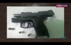 ROTA DO DIA 30 03 20  Homens são presos carregando arma, munição, dinheiro e celulares