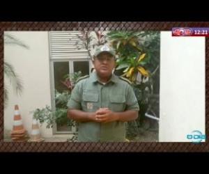 TV O Dia - ROTA DO DIA 31 03 20  Cel. John Feitosa fala sobre os furtos nas estações de embarques em Teresi