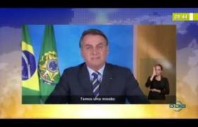 BOM DIA NEWS 01 04 20  Bolsonaro anuncia adiamento no reajuste de medicamentos