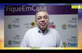 BOM DIA NEWS 01 04 20 Florentino Neto (Sec. Saúde - PI) - Garantia de estoque de EPI's
