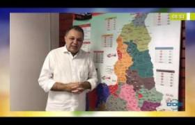 BOM DIA NEWS 02 04 2020 FLORENTINO NETO, SEC. DE SAÚDE,  FEZ REPASSE DE 6 MILHOES AOS MUNICIPIOS