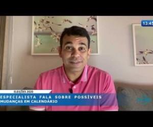 TV O Dia - O DIA NEWS 02 04 20  Possíveis mudanças no calendário das eleições 2020