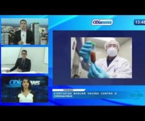 TV O Dia - O DIA NEWS 03 04 20  Cientistas buscam vacina contra o Coronavírus