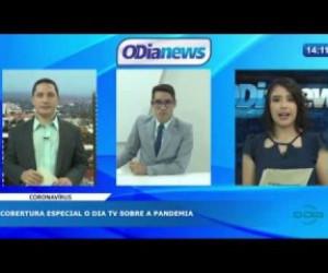 TV O Dia - O DIA NEWS 06 04 20  Cobertura especial O Dia TV sobre a pandemia PARTE 02