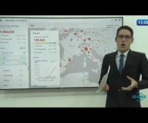 TV O Dia - O DIA NEWS 09 04 20  Rastreador do COVID 19 até 13h05m