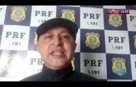 ROTA DO DIA 01 04 20  PRF apreende caminhão com cigarros contrabandeados em José de Freitas