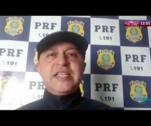 TV O Dia - ROTA DO DIA 01 04 20 PRF apreende caminhão com cigarros contrabandeados em José de Freitas
