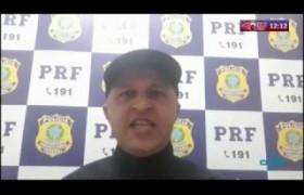 ROTA DO DIA 03 04 20  PRF prende homem acusado de estelionato na BR 316 em Teresina