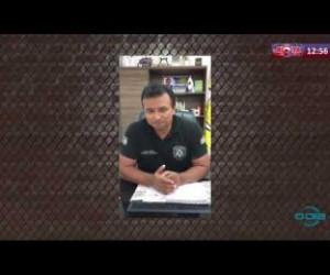 TV O Dia - ROTA DO DIA 06 04 20  Secretário de Segurança, Fábio Abreu,  orienta a não sairem da quarent