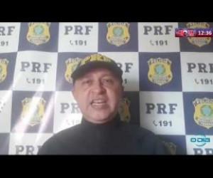 TV O Dia - ROTA DO DIA 09 04 20  PRF apreende em Colônia do Gurgueia, moto roubada a 10 anos em São Paulo