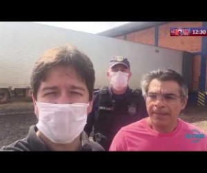 TV O Dia - ROTA DO DIA 09 04 20  Samuel Silveira (Secretário SEMCASPI) - Resgate de carregamento de EPIs