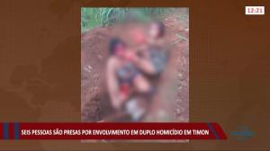 Seis pessoas são presas envolvidas em duplo homicídio de jovens em Timon 21 07 2021