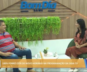 TV O Dia - 100% Forró está de novo horário na programação da O Dia Tv 03 08 2021